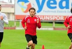 Samsunspor, Alanyaspor maçı hazırlıklarını sürdürdü