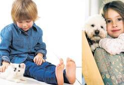 Evcil hayvanlarla mutlu bir çocukluk