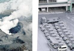 Aso'nun dumanı 11 bin metrede