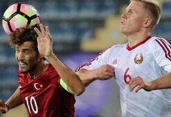 Ümit Milli Futbol Takımı son maçına çıkıyor