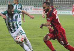 Akın Çorap Giresunspor-Gazişehir Gaziantep: 4-1
