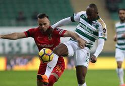 Bursaspor - Kayserispor: 1-0