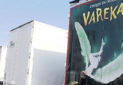Cirque du Soleil'in TIR'larına  el kondu