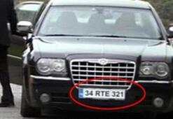 Kurtlar Vadisi'nde RTE plakalı araç