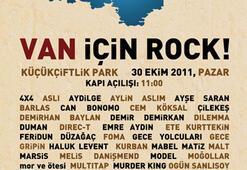 'VAN İÇİN ROCK'
