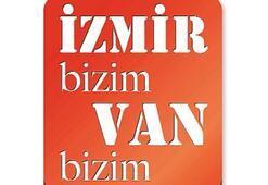 İzmir'den Van'a dostluk eli