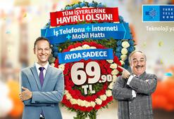 Türk Telekom'dan yeni açılan işyerlerine büyük fırsat