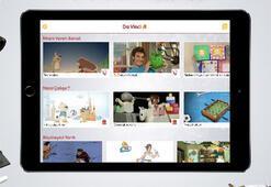 Çocuklar için teknoloji ve bilim uygulaması Da Vinci Kids