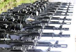 PKKnın suikast silahları ele geçirildi