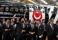 THYden Beşiktaşa özel uçak