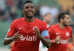 Bursasporu Etoo yıktı: 0-2
