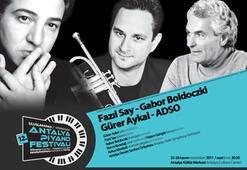 12. Uluslararası Antalya Piyano Festivali başlıyor