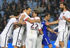 Fransada PSG liderliğini sürdürdü
