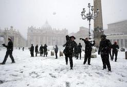 Venedikten kar manzaraları