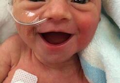 Prematüre bebek interneti salladı