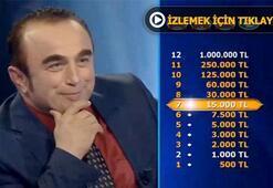 Fıs fıs İsmail Kim Milyoner Olmak İsterde yarıştı