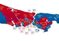 İşte İstanbulun taraftar haritası