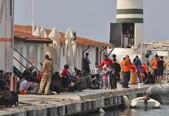 Überschwemmung in Kuşadası, 15 Flüchtlinge vermisst
