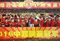 Çin Süper Liginde Guangzhou Evergrande şampiyonluğu garantiledi
