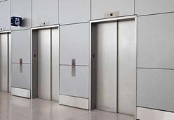Asansörde kırmızı alarm
