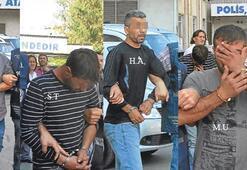 Üç zanlıya müebbet birine 5 yıl hapis