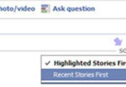 Facebook Haber Kaynağına Yeni Özellik
