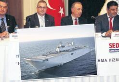 Donanmanın en büyük  gemisi olacak