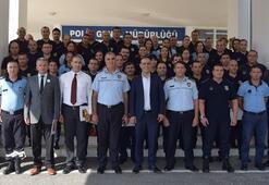 Polisten zabıtalara eğitim