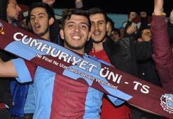 Trabzonspordan vefalı taraftara jest