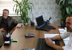 Mehmet Aslantuğ adaşına destek verdi