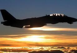 Kampfjet-Einsatz im Ikiyaka Gebirge