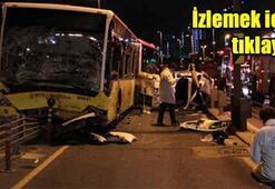 Metrobüs ile otomobil kafa kafaya çarpıştı: 5 ölü, 5 yaralı