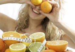 Kalorileri içmeyin, yiyerek zayıflayın