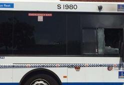 Avustralyada otobüs şoförü yolcu tarafından yakıldı