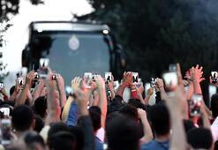 Galatasaray kafilesi Adanada