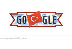 29 Ekim Cumhuriyet Bayramı için özel Doodle