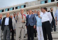 Bursaspor yönetimi Timsah Arena Stadını gezdi