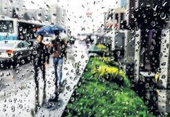 Yağmur var İstanbul'da