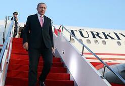Cumhurbaşkanı Erdoğanın Afrika turunda ilk durak Cezayir