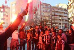 Manisaspor yönetimine protesto yürüyüşü