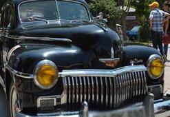 Klasik otomobiller göz doldurdu