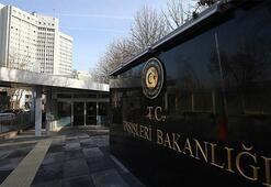 Dışişleri Bakanlığı Afganistandaki terör saldırılarını kınadı