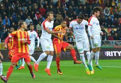 Kayserispor - Antalyaspor: 0-1