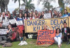 Occupy Durban'dan canlı canlı