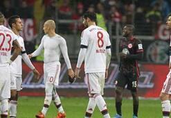 Lider Bayern ilk kez takıldı