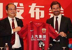 Villas-Boasın yeni takımı Shanghai SIPG