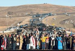 Petrol boru hattı protestolarına devam