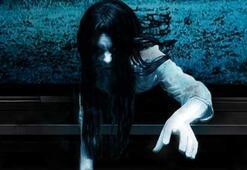 Halka filmindeki korkunç kız artırılmış gerçeklik sayesinde TVden fırladı