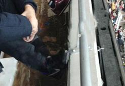 Vodafone Arenada taraftara yağmur şoku