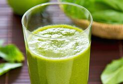 Arındırıcı yeşil detoks tarifi